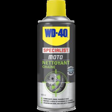 Nettoyant Chaine WD-40 SPECIALIST MOTO 400ml