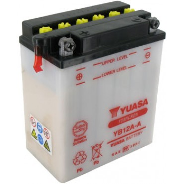 Batterie 12V YB12A-A YUASA