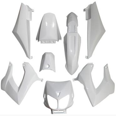 Kit carenages Derbi Senda Xtreme / Xrace (Blanc)
