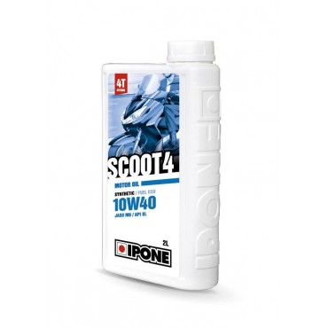 Huile 4T Ipone SCOOT 4  (10w40 - 2L) - Synthetic