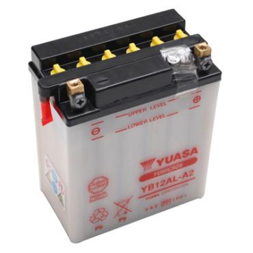 Batterie 12V YB12AL-A2 Yuasa (acide non fourni)