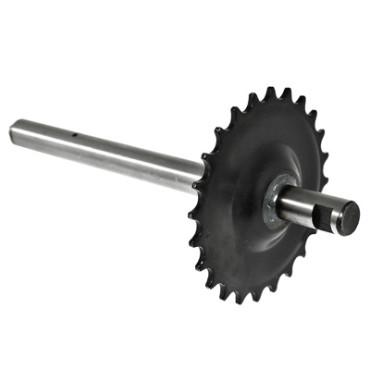 Axe De Pedalier Adaptable PEUGEOT 103 SP-MVL (24 Dts)