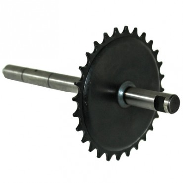 Axe De Pedalier Adaptable MBK 51, 50, 41, 40 (28 Dts)