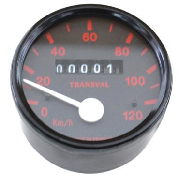 Compteur Transval 120Km-H Pour PEUGEOT 103 SP (Avec Demultiplicateur + Transmission)