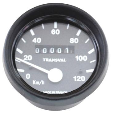 Compteur Transval 120Km-H Pour MBK 51S Grimeca (Avec Demultiplicateur + Transmission)