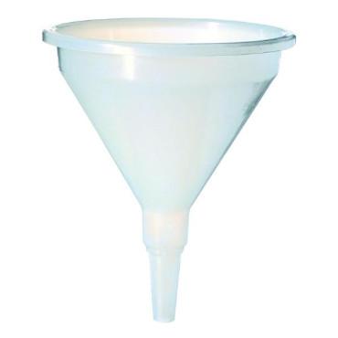 Entonnoir en polypropylène blanc 10l