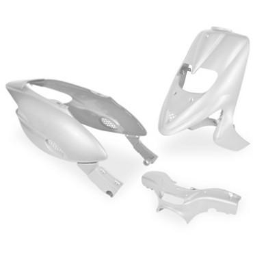 Kit carenages Gilera 50 Stalker (Blanc - 5 pieces)