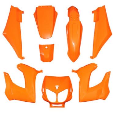 Kit carenages Derbi Senda Xtreme / Xrace (Orange)