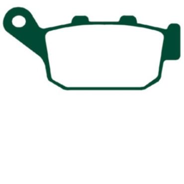 Plaquettes de frein EBC FA140HH (Serie metal fritte)