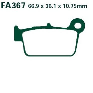 Plaquettes de frein EBC FA367TT