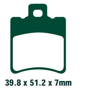 Plaquettes de frein EBC SFA193