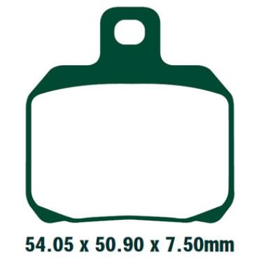 Plaquettes de frein EBC SFA266HH (Serie metal fritte)