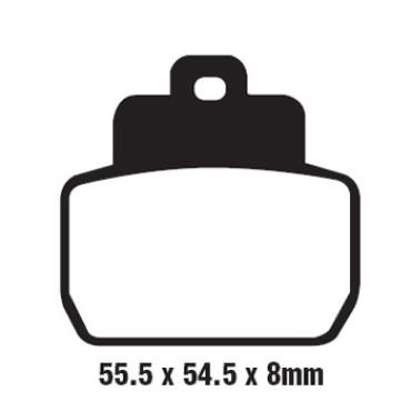 Plaquettes de frein EBC SFA425