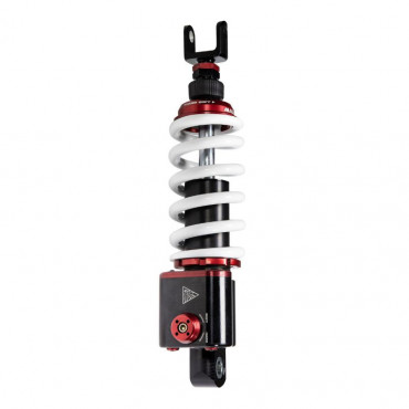 AMORTISSEUR MAXISCOOTER ADAPTABLE YAMAHA 560 TMAX 2020> (RS24/10-R) (REGLABLE - ENTRAXE 330mm) -MALOSSI