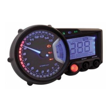 Compteur de vitesse multifonctions KOSO RX2N GP STYLE - Montage universel