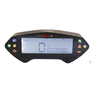 Compteur de vitesse multifonctions KOSO DB-01RN LCD - Montage universel (noir)