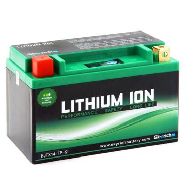 Batterie Lithium 12V HJTX5L-FP (YTZ5S/YTX4L-BS/YTX5L-BS) - 410gr