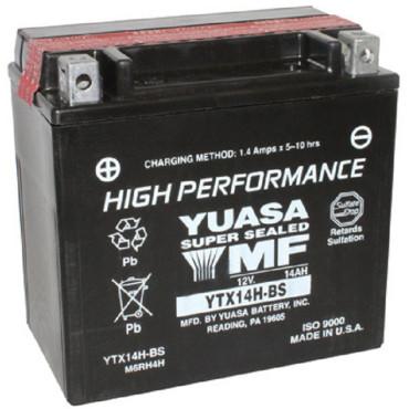 Batterie 12V YTX14H-BS Yuasa (acide fourni)