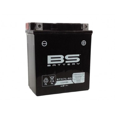 Batterie 12V YTX7L-BS SLA (Prête à monter) - BS BATTERY