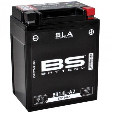 Batterie 12V YB14L-B2 SLA (Prête à monter) - BS BATTERY