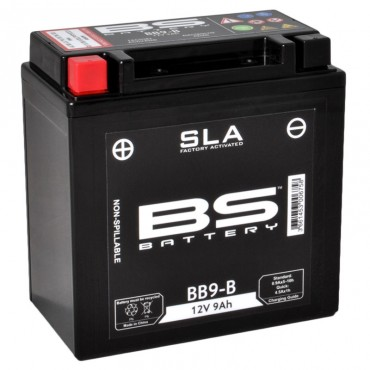 Batterie 12V YB9-B SLA (Prête à monter) - BS BATTERY