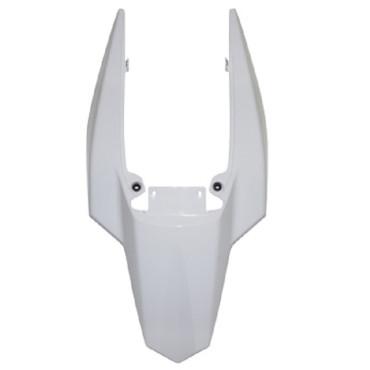 Carenage Derbi DRD Xtreme 2010- Coque arrière (Blanc)