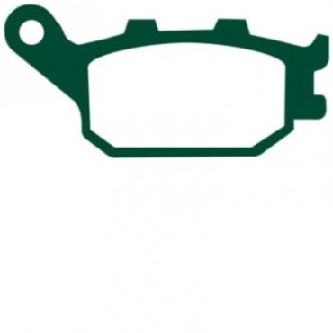 Plaquettes de frein EBC FA174HH (Serie metal fritte)