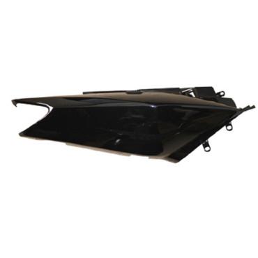 Carénage Yamaha Tmax 2002-2007 - flanc arrière droit  Noir (adaptable)