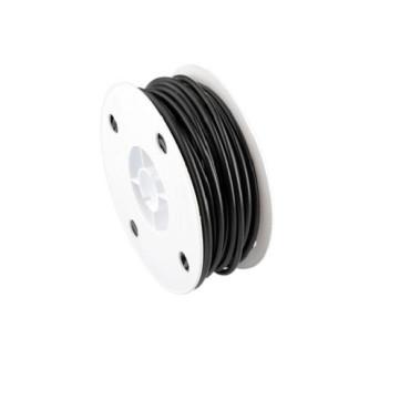Gaine standard noir diamètre 4mm - Vendu au mètre
