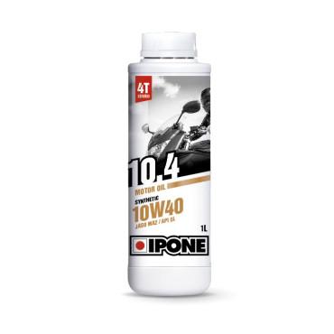 Huile 4T Ipone Moto 10.4 (10w40 - 1L)