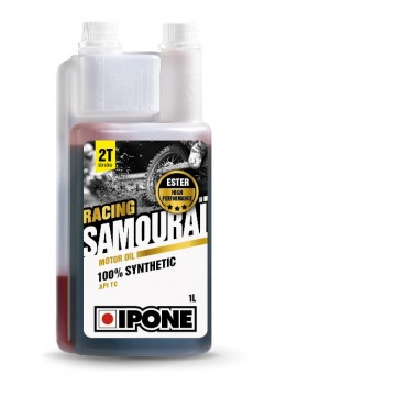 Huile 2T Ipone Samourai 100% synthetique (1L)