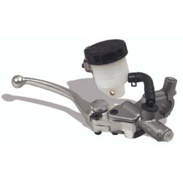 Maître cylindre de frein sport D15.8mm NISSIN Argent
