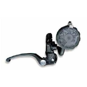 Maître cylindre de frein axial D15.87mm NISSIN Noir Levier Argent