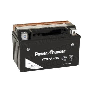Batterie 12V YTX7A-BS POWER THUNDER