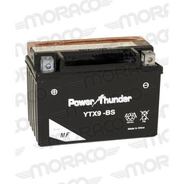 Batterie 12V YTX9-BS - POWER THUNDER