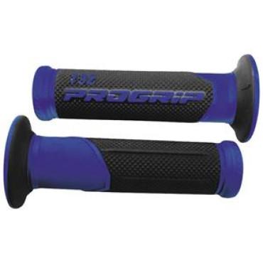 Poignees ProGrip 732 Bleu / Noir (La paire) - Scoot
