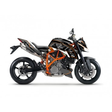Kit Déco UP MAXIMIZE KTM 990 SUPER DUKE 2010-2015 Noir/Orange
