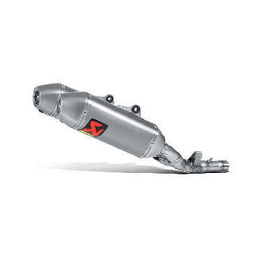 Silencieux AKRAPOVIC Honda CRF250R Titane