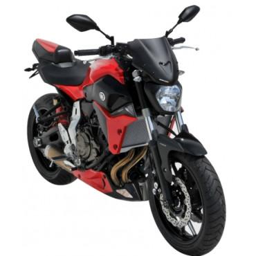 Saute vent Yamaha 700 MT-07 ERMAX Sport 27 cm
