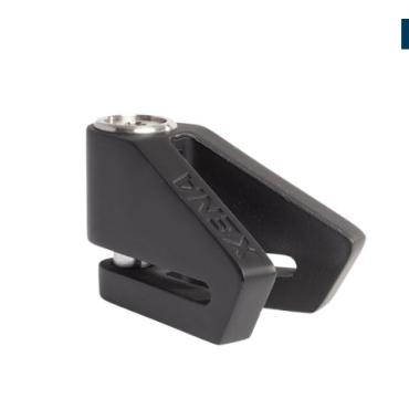 Bloque disque XENA X2 SRA-Noir mat