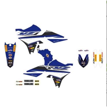 Kit déco BLACKBIRD Replica Yamaha YZ 2020