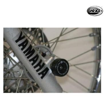 Protection de fourche R&G RACING noir Yamaha DT125X/R