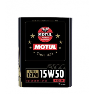 Huile Moteur Motul 2100 15W50 2L