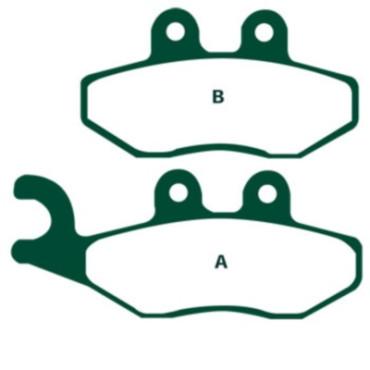 Plaquettes de frein EBC SFA353