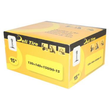 Chambre a air 15 pouces (130/90/15 à 150/90/15) - Valve TR4 Delitire