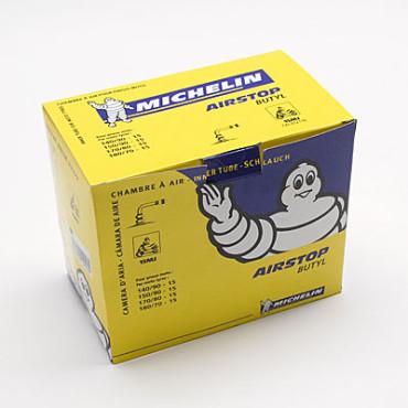 Chambre à air 15 pouces (140/90/15-150/90/15-170/80/15-180/90/15) - 15 MJ Valve coudée Michelin