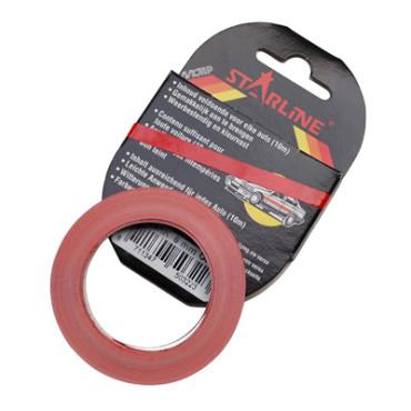 Liseré de jante MOTIP SOLIDLINE largeur 3 mm Rouge (10  mètres)