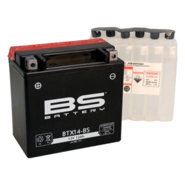 Batterie 12V YTX14-BS - BS BATTERY