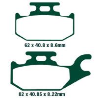 Plaquettes de frein EBC SFA413