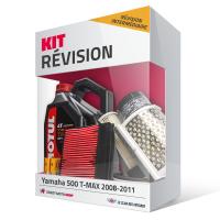 Kit révision YAMAHA 500 Tmax 2008-2011 (Révision intermédiaire) - MOTUL 4L